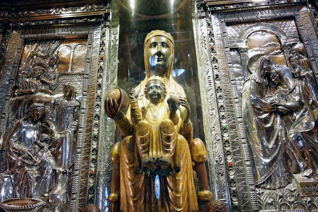 The Lady of Montserrat (or Black Madonna)